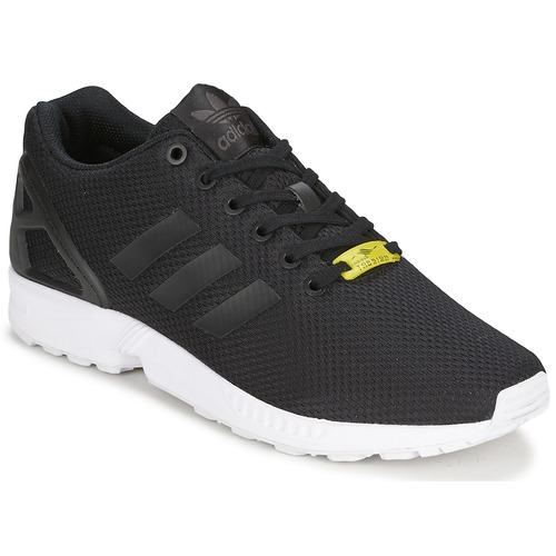 kengät Matalavartiset tennarit adidas Originals ZX FLUX Black / White