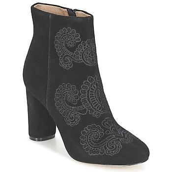 kengät Naiset Nilkkurit Bocage ELLIOT Black