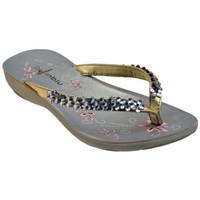kengät Naiset Varvassandaalit Inblu  Kulta
