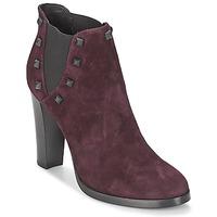 kengät Naiset Nilkkurit Alberto Gozzi CAMOSCIO NEIVE Bordeaux