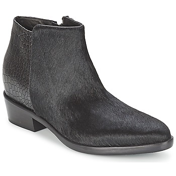 kengät Naiset Bootsit Alberto Gozzi PONY NERO Black