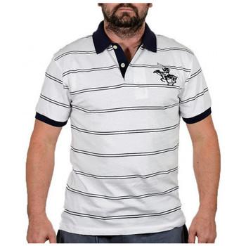 vaatteet Miehet Lyhythihainen t-paita Santa Barbara  Valkoinen