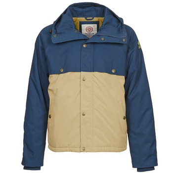 vaatteet Miehet Parkatakki Franklin & Marshall JKMVA034 Blue / Beige