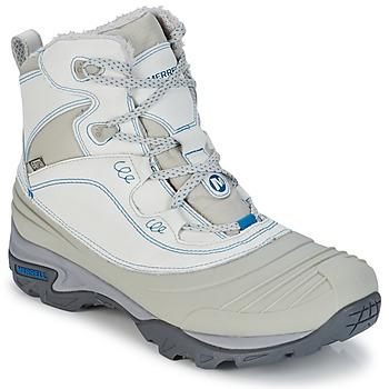 kengät Naiset Vaelluskengät Merrell SNOWBOUND MID WTPF Grey