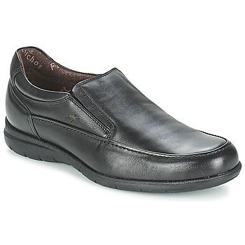 kengät Miehet Mokkasiinit Fluchos LUCA Musta