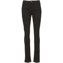 vaatteet Naiset Slim-farkut Acquaverde TWIGGY Musta