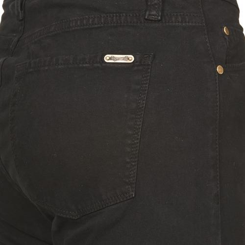 Acquaverde Twiggy Black - Ilmainen Toimitus- Vaatteet Slim-farkut Naiset 71