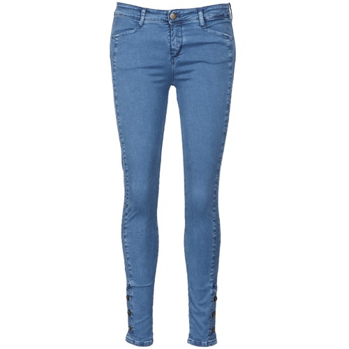 vaatteet Naiset Slim-farkut Acquaverde ALFIE Blue / Clair