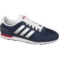 kengät Miehet Matalavartiset tennarit adidas Originals Neo City Racer F99330 Blue