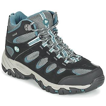 kengät Naiset Vaelluskengät Merrell RIDGEPASS MID GTX Grey