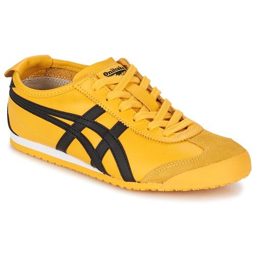 kengät Matalavartiset tennarit Onitsuka Tiger MEXICO 66 Yellow / Black