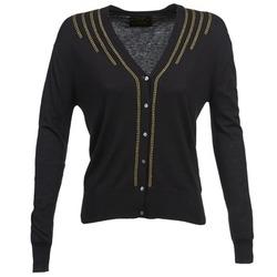 vaatteet Naiset Neuleet / Villatakit Chipie BERENICE Black