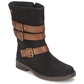 kengät Tytöt Saappaat Gioseppo HALIFAX Black