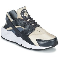 kengät Naiset Matalavartiset tennarit Nike AIR HUARACHE RUN W Grey / BEIGE