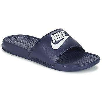 kengät Miehet Rantasandaalit Nike BENASSI JDI Sininen / Valkoinen