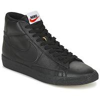 kengät Miehet Korkeavartiset tennarit Nike BLAZER MID Black