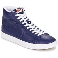 kengät Miehet Korkeavartiset tennarit Nike BLAZER MID Blue