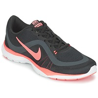 kengät Naiset Fitness / Training Nike FLEX TRAINER 6 W Black / Pink