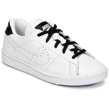 kengät Pojat Matalavartiset tennarit Nike TENNIS CLASSIC PREMIUM PRESCHOOL White / Black
