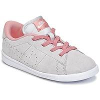 kengät Tytöt Matalavartiset tennarit Nike TENNIS CLASSIC PREMIUM TODDLER Grey / Pink