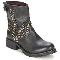 kengät Naiset Bootsit Ikks SEATTLE-PREMIUM Black