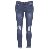 vaatteet Naiset Slim-farkut Yurban IFOUNOLE Blue