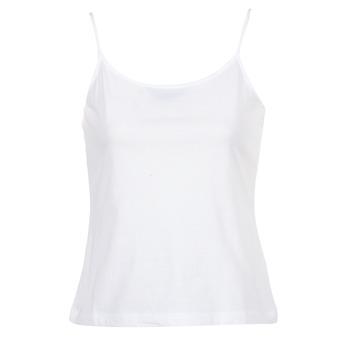 vaatteet Naiset Hihattomat paidat / Hihattomat t-paidat BOTD FAGALOTTE White