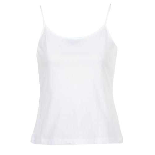 vaatteet Naiset Hihattomat paidat / Hihattomat t-paidat BOTD FAGALOTTE Valkoinen