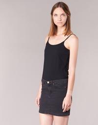 vaatteet Naiset Hihattomat paidat / Hihattomat t-paidat BOTD FAGALOTTE Black