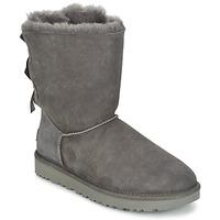 kengät Naiset Bootsit UGG BAILEY BOW II Grey