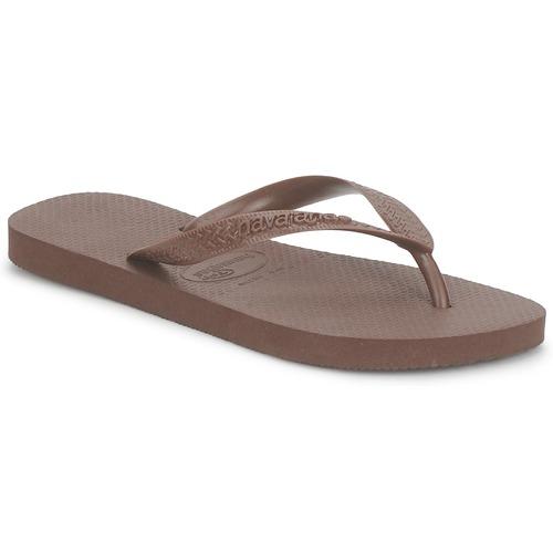 kengät Varvassandaalit Havaianas TOP Brown