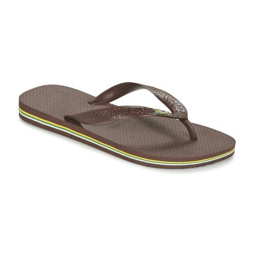 kengät Varvassandaalit Havaianas BRASIL Brown