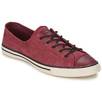kengät Naiset Matalavartiset tennarit Converse Chuck Taylor All Star FANCY LEATHER OX Bordeaux
