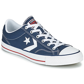 kengät Matalavartiset tennarit Converse STAR PLAYER CORE CANVAS OX Laivastonsininen / White