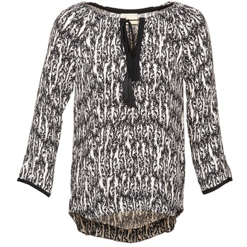 vaatteet Naiset Topit / Puserot Stella Forest BTU010 Ecru / Black