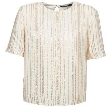 vaatteet Naiset Topit / Puserot Antik Batik ROMINA Creme