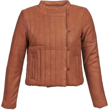 vaatteet Naiset Nahkatakit / Tekonahkatakit Antik Batik YOANN COGNAC