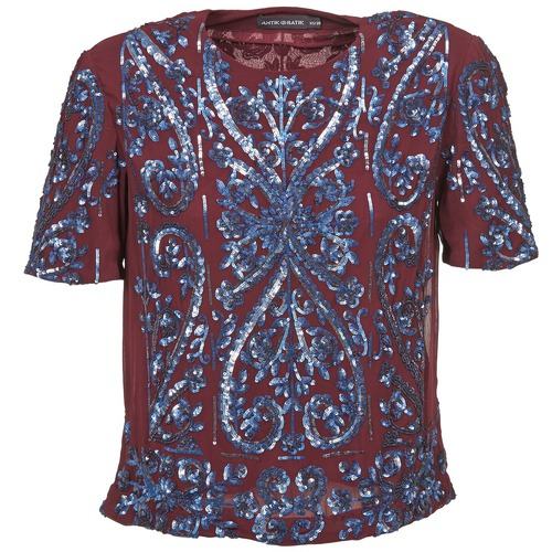 vaatteet Naiset Topit / Puserot Antik Batik NIAOULI Bordeaux