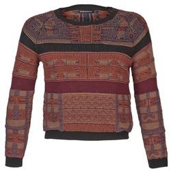 vaatteet Naiset Neulepusero Antik Batik AMIE Red