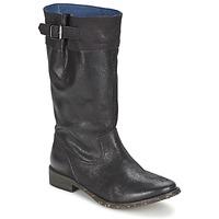 kengät Naiset Saappaat Schmoove SANDINISTA BOOTS Black / Metallinen
