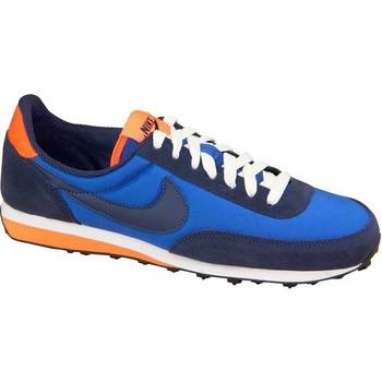 kengät Pojat Matalavartiset tennarit Nike Elite GS Vaaleansiniset, Tummansininen