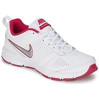 kengät Naiset Urheilukengät Nike T-LITE XI White / Pink