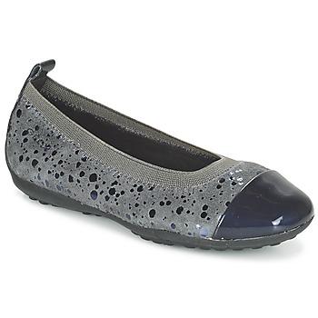 kengät Tytöt Balleriinat Geox JR PIUMA BALLERINE Grey / Fonce