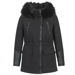 vaatteet Naiset Parkatakki Moony Mood FOUINI Black