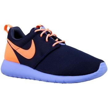 kengät Pojat Matalavartiset tennarit Nike Roshe One GS Oranssin väriset, Tummansininen