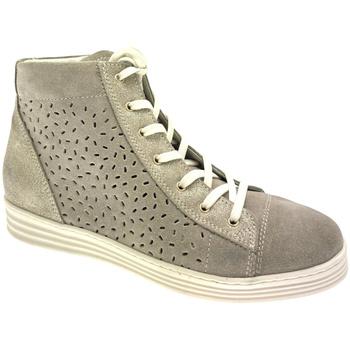 kengät Naiset Vaelluskengät Calzaturificio Loren LOC3689ta tortora
