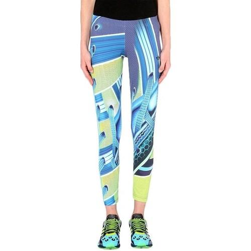 vaatteet Naiset Legginsit adidas Originals Leggings Vaaleansiniset, Keltaiset
