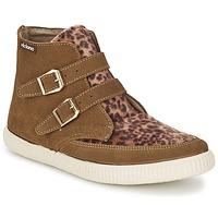 kengät Naiset Korkeavartiset tennarit Victoria 16706 Brown
