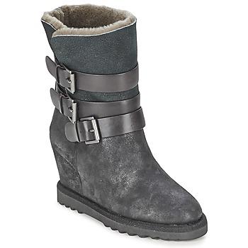 kengät Naiset Nilkkurit Ash YES Black