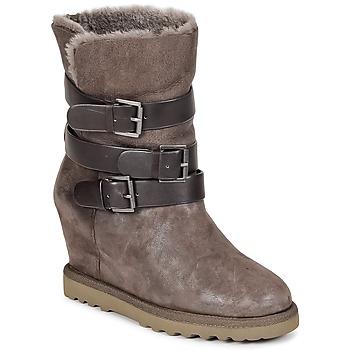 kengät Naiset Nilkkurit Ash YES Taupe
